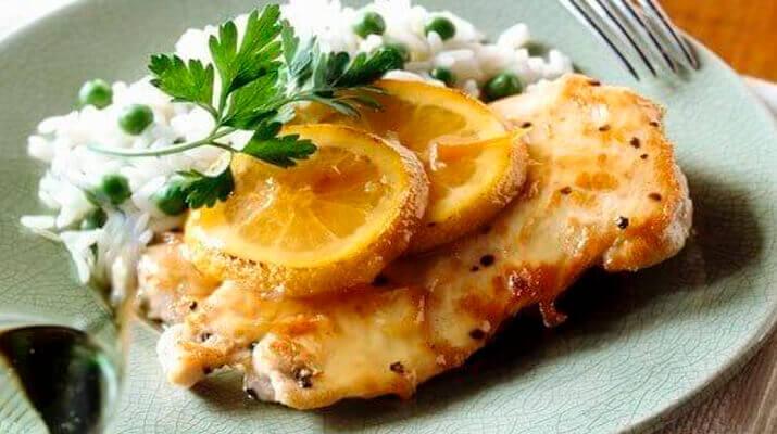 Цыпленок в апельсиново-лимонном маринаде