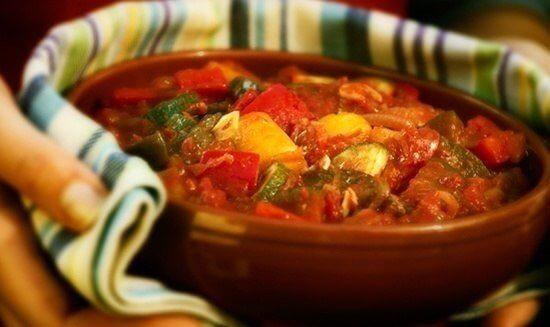 Писто (овощи тушеные по-испански)