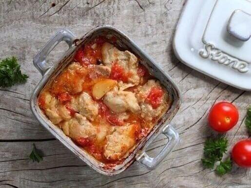 Курица, запеченная в духовке, с горчичный вкусом