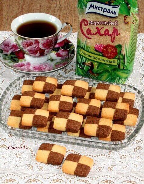 Французское печенье «Сабле»