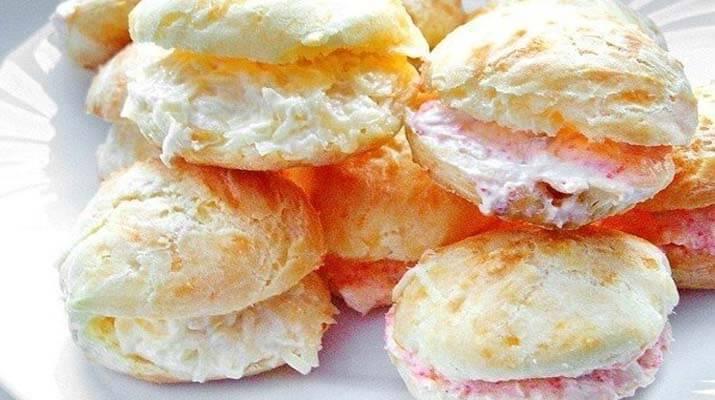 Французские заварные булочки — гужеры
