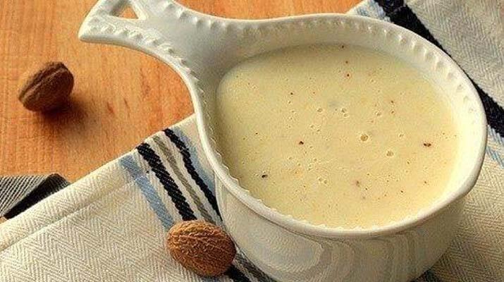 Соус «Бешамель», или белый соус