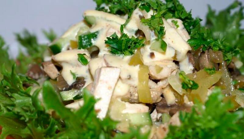 Идеальный салат по-английски
