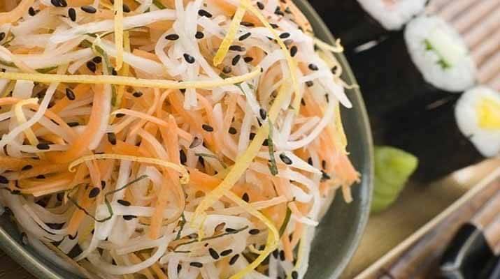 Японский салат «Намасу»