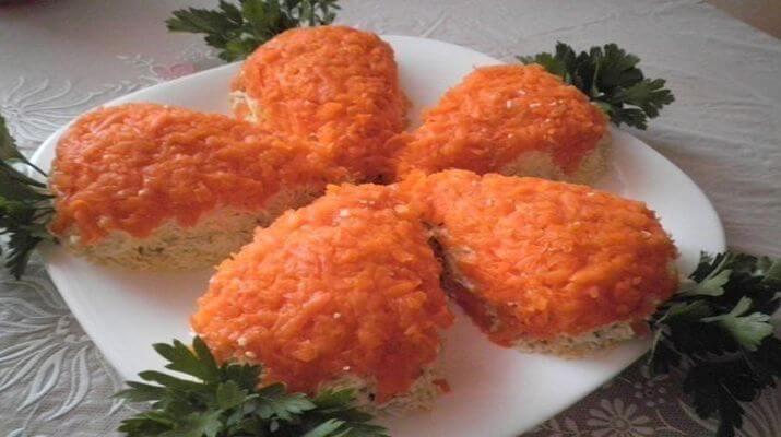 Каша овсяная с апельсином