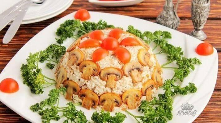 Рис с грибами и сыром Филадельфия за 30 минут