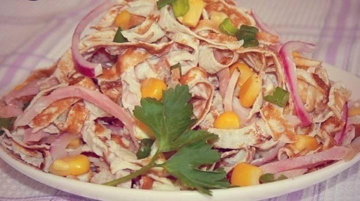 «Солнечный» салат