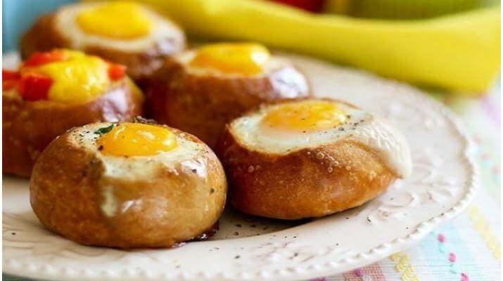Невероятная закуска за 15 минут! Булочки с яйцом на завтрак