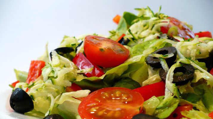 Комбинированный овощной салат