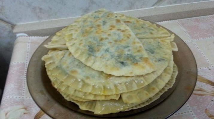 Чебуреки с сыром