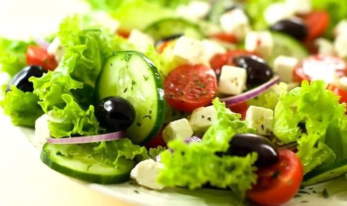 Овощной «Цветной» салат