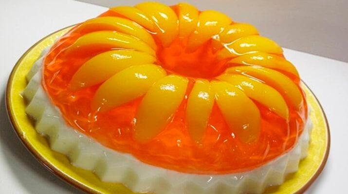 Желейный фруктовый торт