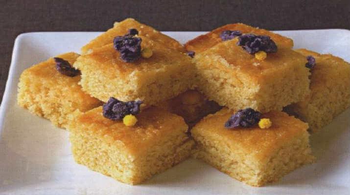 Абрикосовый пирог с корицей