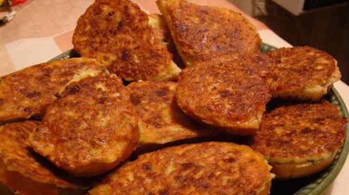 Горячий бутерброд с картошкой
