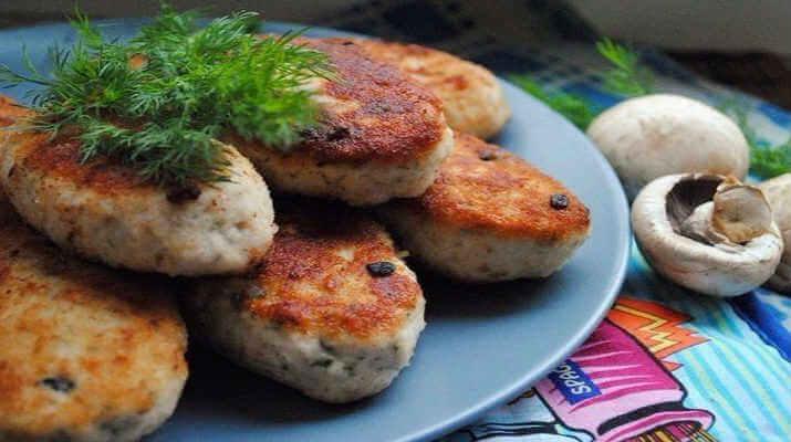 Бесподобные куриные котлеты с грибами по редкому рецепту