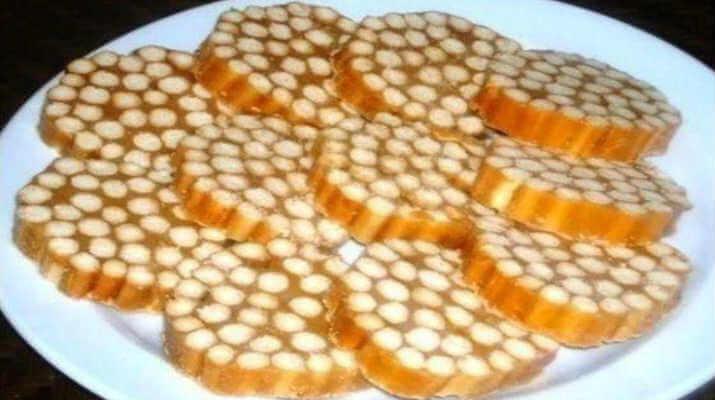 Шикарный десерт из сладкой соломки
