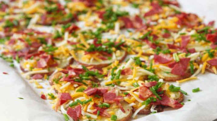 Мини пицца на картошке