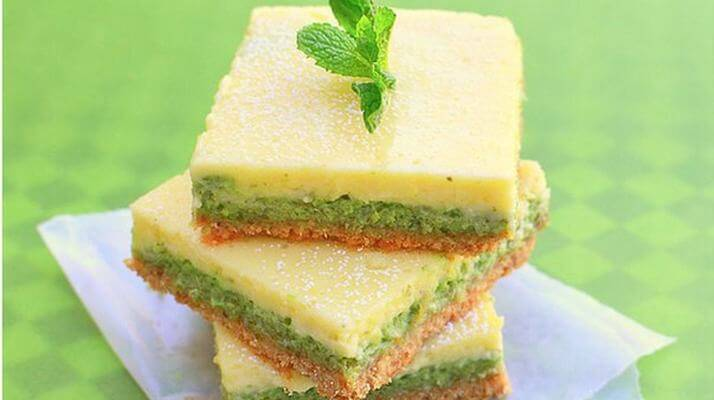 Мятно-лимонные пирожные