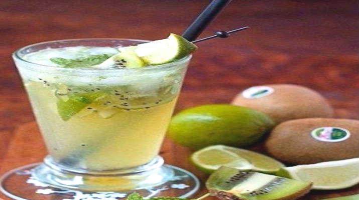 Домашний лимонад с киви