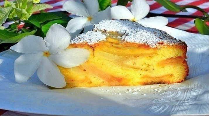Многослойный пирог из сыра (Ачма)
