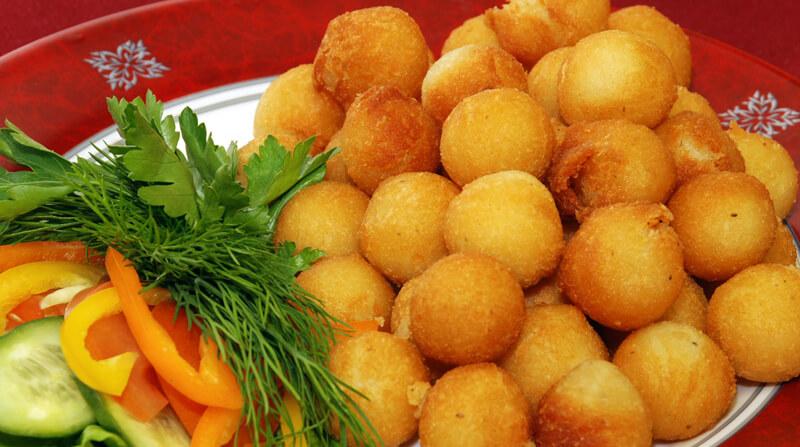 Настоящий кулинарный шедевр — аппетитные шарики из картошки