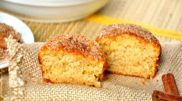 Кексы в сахарной корочке