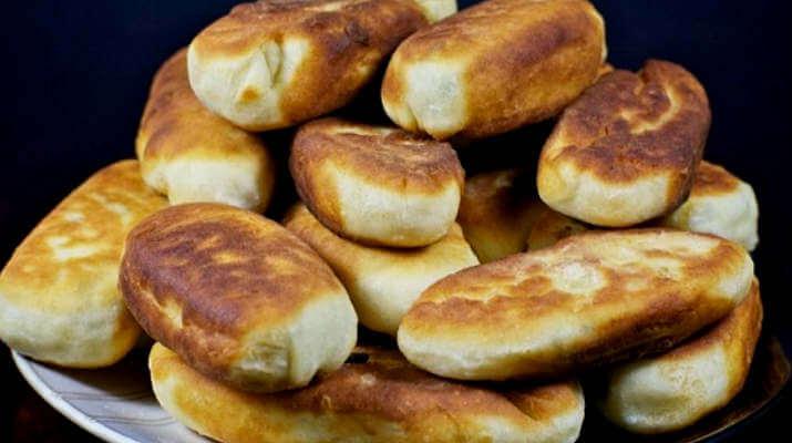 Пирожки с картошкой и сыром