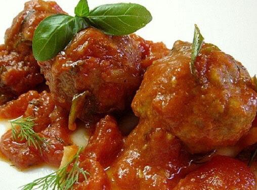 Бесподобные запеченные мясные шарики по-итальянски