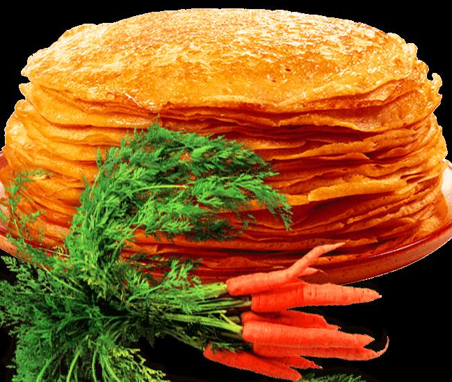 Потрясающие морковные блинчики по редкому рецепту