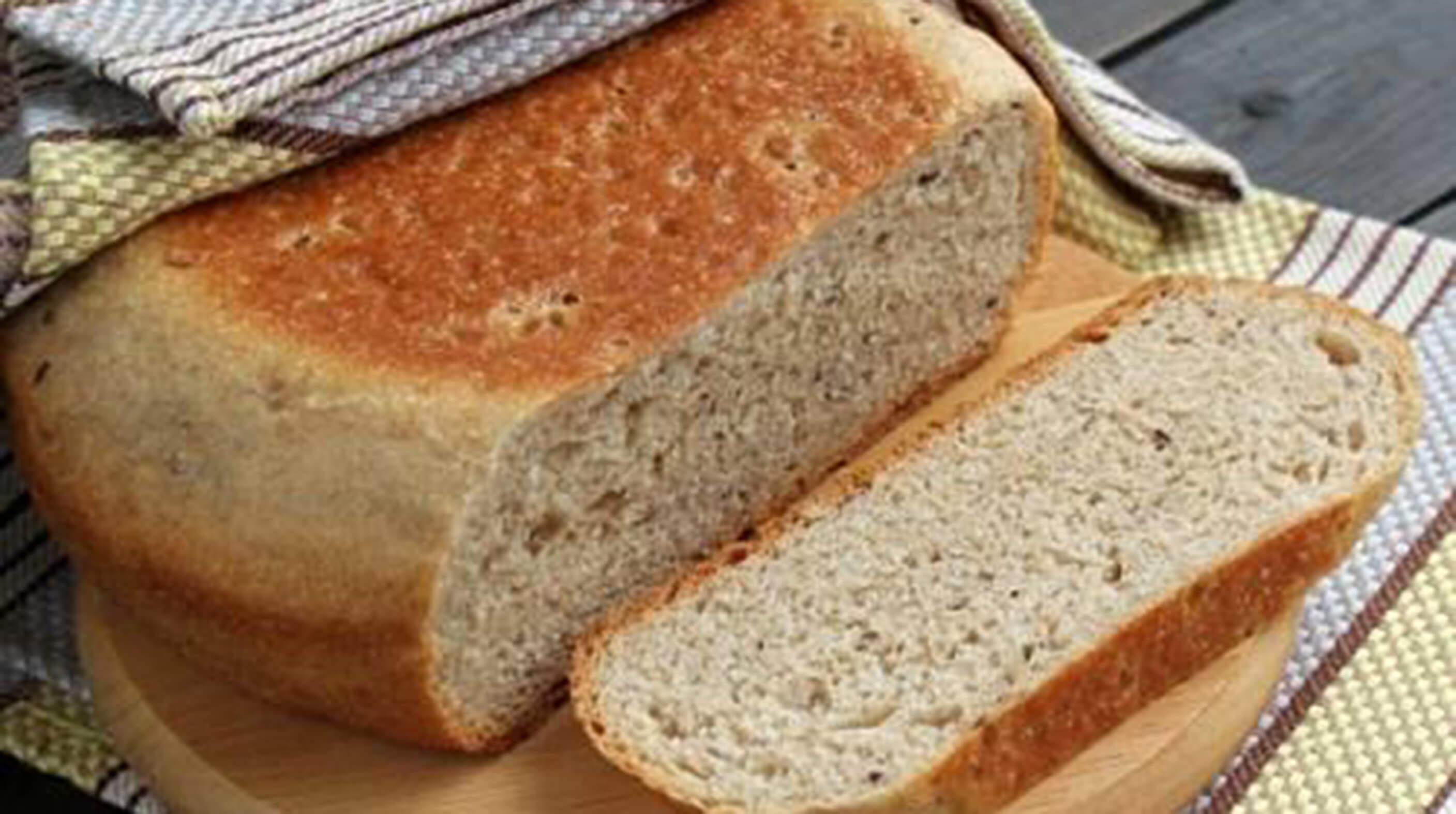 Вкуснейший и ароматный хлеб в мультиварке