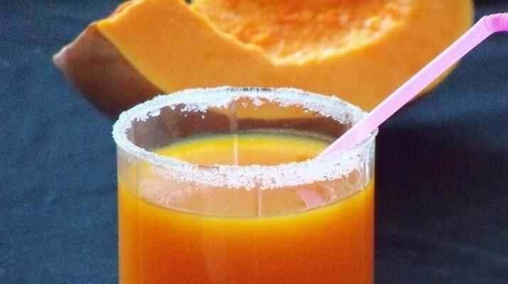 Тыквенно-апельсиновый сок