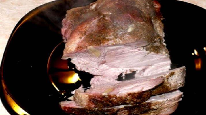 Сочная свинина для бутербродов