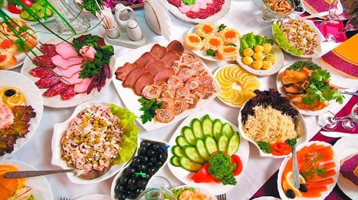 ТОП — 9 Рецептов Праздничных Салатов