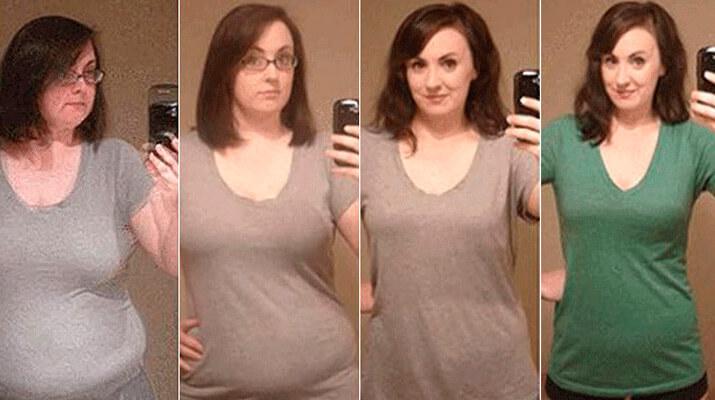 Эта женщина похудела на 40 кг без спортзала и строгой диеты