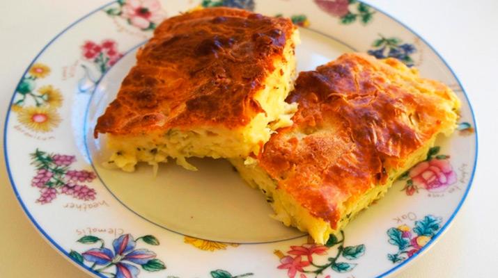 Пирог «Ленивый капустник»