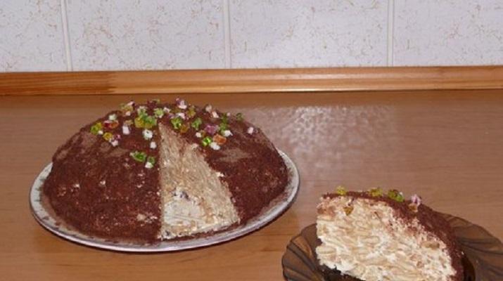 «Гениальный» тортик без выпечки за 10 минут