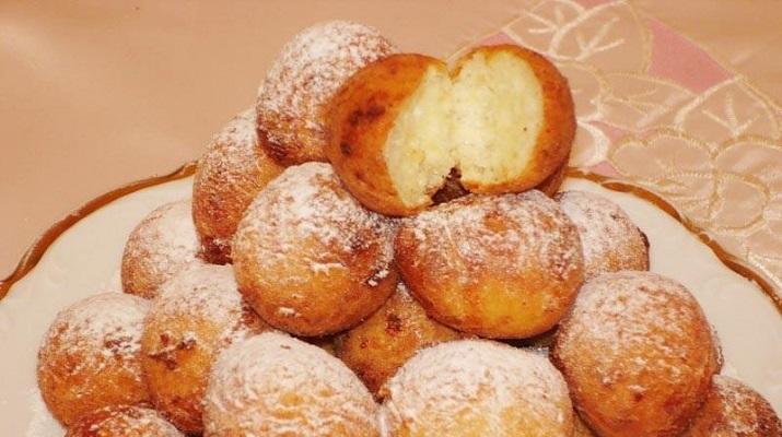 Пончики творожные за 10 минут!
