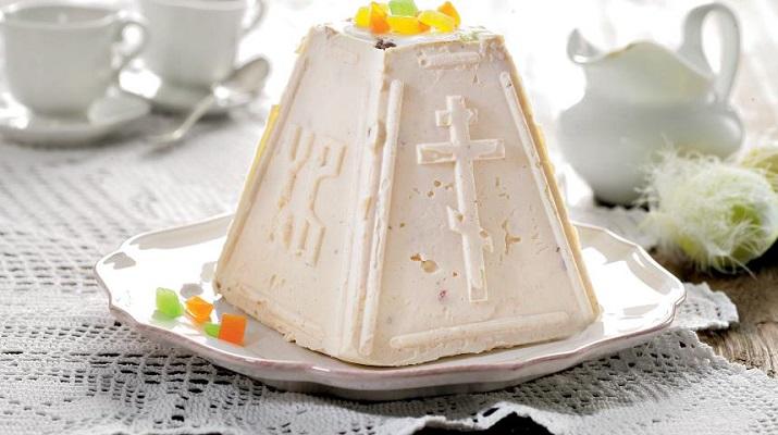 Простой творожный густой крем для торта