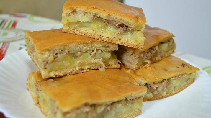 Пирог с картошкой «Муж постоянно просит». А как оценит это блюдо ваш муж?