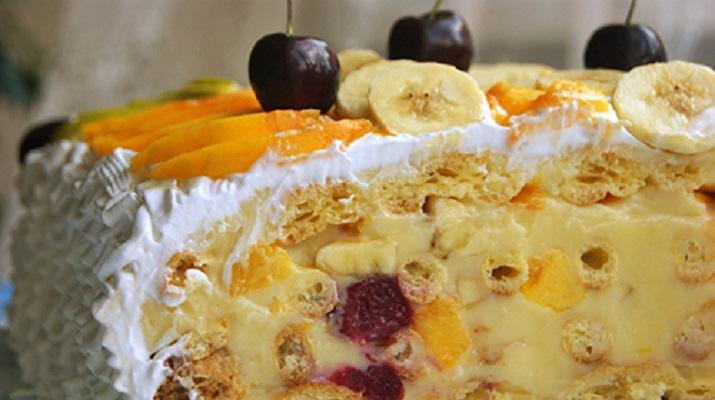 Торт «Тропиканка»: летний десерт, от которого невозможно оторваться