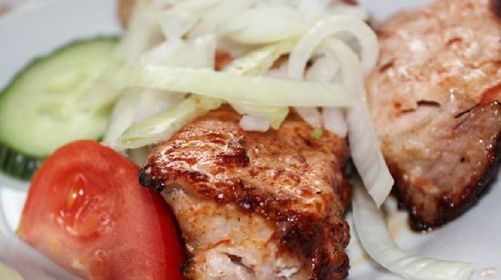 Салат из грибов с сыром