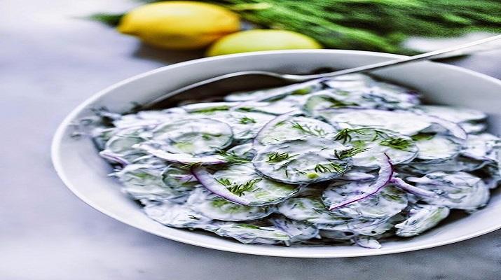 Салат из огурца по-турецки