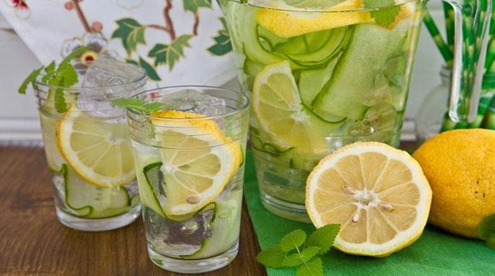 Полезный лимонад из огурца, имбиря и мяты или ВОДА САССИ!