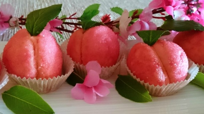Сахарные персики