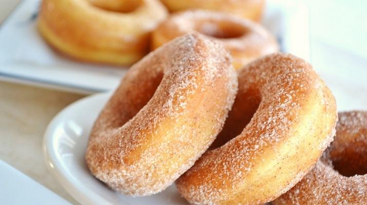 Сочные лимонные пончики