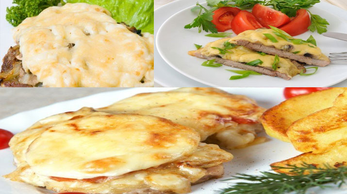 ТОП-3 рецепта мяса по-французски