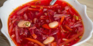 Салат из свежих овощей с хреном