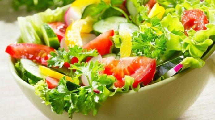 Рецепты салатов из свежих овощей и зелени