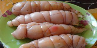 Шашлык, маринованный в кефире или майонезе