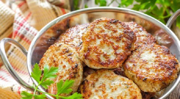 Куриные котлеты с беконом и сыром